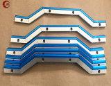 CNC 기계를 위한 공작 기계 가이드의 망원경 강철 홈 와이퍼