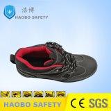 Pattini di sicurezza del Ce S1p dei pattini di sicurezza del cuoio spaccato dell'OEM