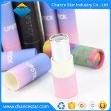 Personnalisé Papier biodégradable Carton rouge à lèvres Tube noir