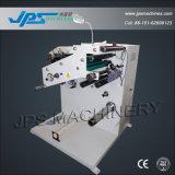Jps-320fq-Tr lona de PVC Roll Cortador com rebobinador de torre