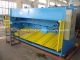 Máquina de corte da guilhotina QC11y-12X3200 hidráulica, máquina de estaca da placa de aço