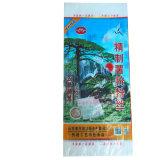 Мешок сплетенный PP для упаковки риса кукурузного крахмала 25kg 50kg