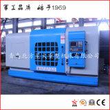 Piso económico profesional Torno CNC para el mecanizado de la brida grande (CK6025)