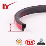 P de Zelfklevende Rubber Verzegelende Tochtstrip van het Type met 3m