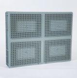 Euro container di memoria di standard pp Plasitc di logistica accatastabile EU8611
