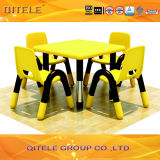 Plastic Table and Chair with Stainless Steel Table put (IFP-012)