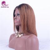 2t Ombre Color 1b+Brown peluca de encaje completo para la Mujer