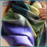 Шаль шаль Pashmina Tassel толстую Клетчатую женщин зимние шарфы