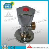 El lavado de latón ángulo Válvula de bola (YD-A5022)