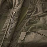 Parka de Mens complétée en bas de la jupe occasionnelle avec le capot