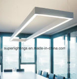 Oficina de Trunking Pednant LED de luz lineal del sistema de iluminación