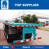 Camion di rimorchio del contenitore della base del veicolo -20FT 40FT del titano con le serrature di torsione