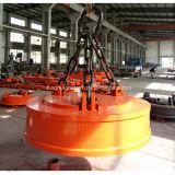Eletro ímã de levantamento para sucatas de materiais Ferromagnetic