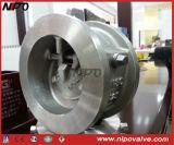 Wafer Type Swing Type Válvula de retenção de disco de inclinação