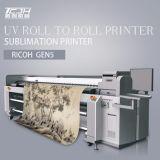 Chaud ! imprimante à jet d'encre dissolvante d'Eco de la tête d'impression Dx7 de 3.2m avec 1440dpi