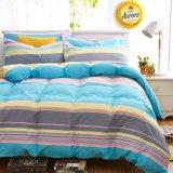 100%年のポリエステル寝具4組の部分セットのばねの感じの慰める人セット