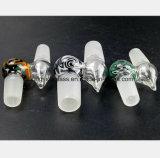 14.5mm, 18.8mm männliches Glaswasser-Rohr für Filter-Tabak-Wiederanlauf