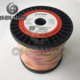Kabel 0.711mm de Isolatie 450degress van het Thermokoppel van het type K van de Glasvezel
