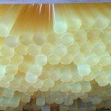 Желтый полиуретан штанги, PU штанги, пластичные штанги, штанга полиуретана, штанга PU, пластичная штанга
