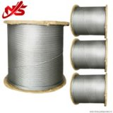 직류 전기를 통한 철강선 밧줄 케이블 6X19 권선 패킹