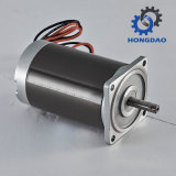 Motor de freno de 60W 90V DC motorreductor eléctrico pequeño_C