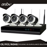 Набор дома наблюдения обеспеченностью CCTV сети 720p NVR WiFi пули