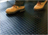 Piso de borracha antiderrapagem, Ginásio piso de borracha, Fire-Resistant piso de borracha