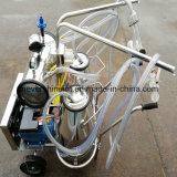 真空ポンプの電気ヤギの搾乳器の搾り出す機械2バケツ