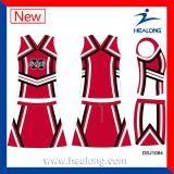 Healong не спортивной одежды марки девочек с термической возгонкой красителя Cheerleading форму