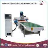 Machine de traitement du bois numérique automatique