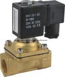 PU-Serien-zweistellige bidirektionale Magnetspule-Druckluftventile, Messingventil
