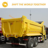 HOWO 판매를 위한 8X4 쓰레기꾼 팁 주는 사람 트럭