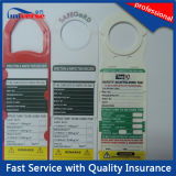 Пластмассовые основы безопасности тег индекса для строительства и технического обслуживания