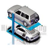 2つのポストガレージのための油圧車の駐車上昇