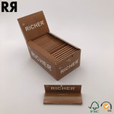 Fumar cigarrillos, la FDA certificó la goma arábiga mano el rollo de papel