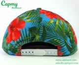 Тип крышки Snapback шлема печатание цветка
