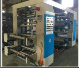 4 couleurs flexographie Impression de la machine pour le rouleau de papier pour rouleau de film en plastique (NX4)