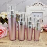 Neue Ankunfts-Rosen-Acrylsahneglas-Lotion-Flasche für das Kosmetik-Verpacken (PPC-CPS-064)