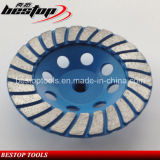 D150mm Wave Turbo Concrete and Stone Grinding Wheel