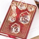 Het Goud van de manier om Toebehoren die van de Tegenhanger van de Juwelen van de Diamant van het Messing de Filigraan Holle wordt geplateerd