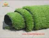 Grama artificial sintética com gramado de gramado com certificação Labosport