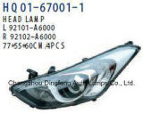 Фары для Hyundai Elantra Gt I30 2013 OE#92102-A6020 92102 92102-A6040-A6000