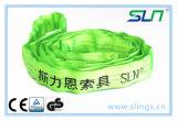 Imbracatura rotonda infinita di verde 2t*2m con Ce/GS