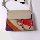 Sacs minces Emg4696 de cuir véritable de sac à main de poche de Crossbody d'épaule mini