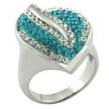 De luxueuze Unieke Ring van de Juwelen van de Vrouwen van het Kristal