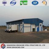 Assemblage facile Structure en acier à faible coût dela logistique délestée