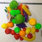 Plastikgemüse spielt Frucht-Spielwaren-Abendessen-Spielwaren