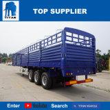 Het Voertuig van de titaan - Flatbed Oplegger van de Lading van de Aanhangwagen van de Omheining van 3 Assen 40t