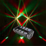 8*10W RGBW 4 in-1 LED Spider Beam Moving Head