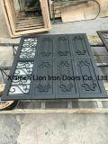 Disegno d'acciaio sezionale del portello del garage del ferro saldato del portello dei commerci all'ingrosso
